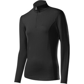 Löffler Basic Transtex Sweater met Rits met Opstaande Kraag Dames, black